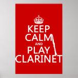 Guarde el Clarinet de la calma y del juego (cualqu Impresiones