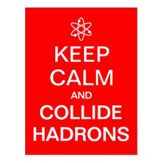 Guarde el Collider divertido tranquilo del Hadron Postal