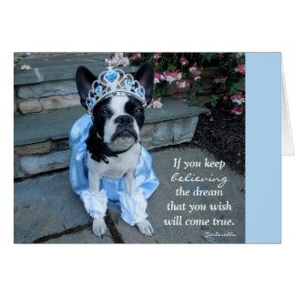Guarde el creer - TARJETA EN BLANCO Lola B. Boston