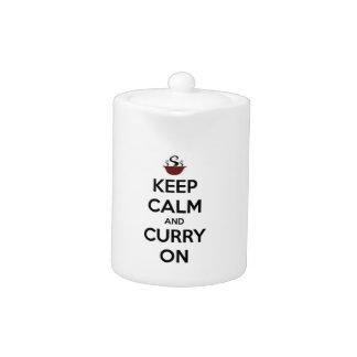 guarde el curry tranquilo encendido