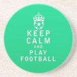 Guarde el fútbol de la calma y del juego