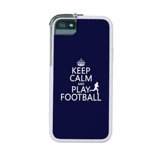 Guarde el fútbol de la calma y del juego (el color