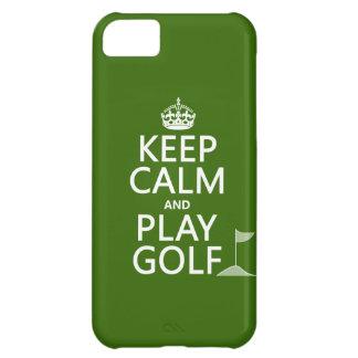 Guarde el golf de la calma y del juego - todos los