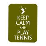 Guarde el imán de encargo del color del tenis de l