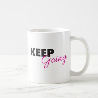 Guarde el ir - el decir inspirado del taza de café