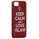 Guarde el Islam tranquilo iPhone 5 Case-Mate Carcasas