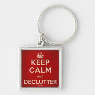 Guarde el llavero de la calma y de Declutter