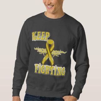 Guarde el luchar de la camiseta de los hombres del sudaderas encapuchadas