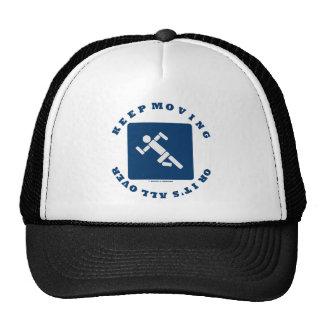 Guarde el moverse o está por todo (muestra del pic gorra