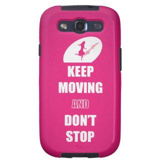 Guarde el moverse y no pare las citas (el rosa) samsung galaxy s3 coberturas