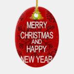 Guarde el ornamento tranquilo de las Felices Ornamentos De Reyes