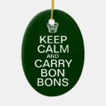 Guarde el ornamento tranquilo del navidad de los adorno de navidad