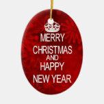 Guarde el ornamento tranquilo del navidad ornamentos de reyes