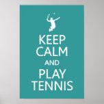 Guarde el poster de encargo del color del tenis de