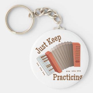 Guarde el practicar llavero redondo tipo pin