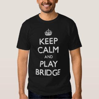 Guarde el puente de la calma y del juego poleras