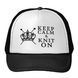 Guarde el punto de la calma encendido gorra
