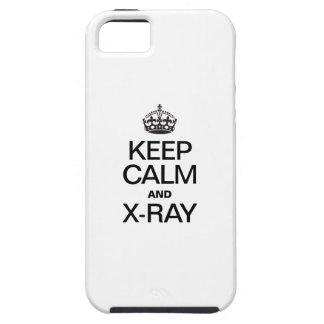 GUARDE EL RAYO DE LA CALMA Y DE X iPhone 5 CARCASA