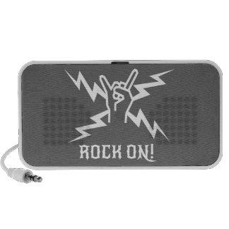 Guarde el Rockin Laptop Altavoz