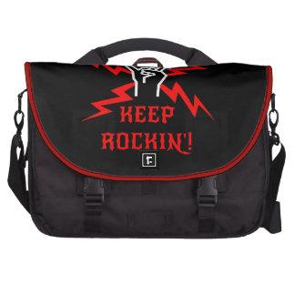 Guarde el Rockin Bolsa De Ordenador