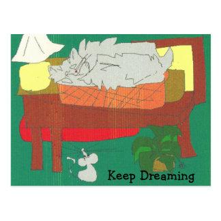 Guarde el soñar postales