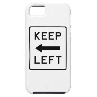 Guarde el Swag Democratic izquierdo iPhone 5 Case-Mate Funda