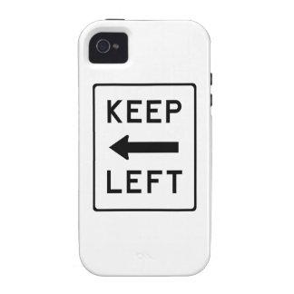 Guarde el Swag Democratic izquierdo Vibe iPhone 4 Carcasas