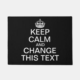 Guarde el texto de encargo tranquilo