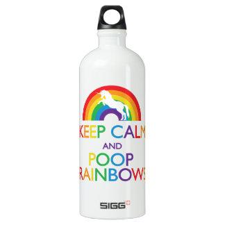 Guarde el unicornio de los arco iris de la calma y