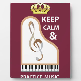 Guarde el vector de la calma y de la música de la placas para mostrar