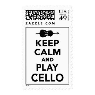Guarde el violoncelo de la calma y del juego envio