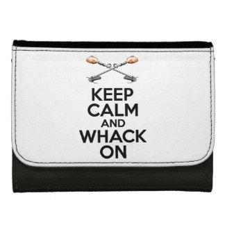 Guarde el Whack tranquilo encendido