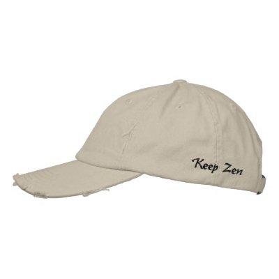 Guarde el zen gorras de beisbol bordadas