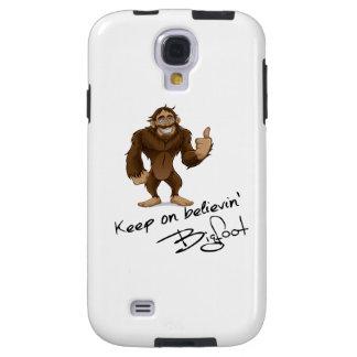 Guarde en el autógrafo de Believin Bigfoot Funda Para Galaxy S4