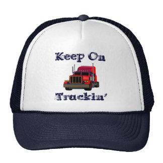 Guarde en el casquillo de Truckin Gorros Bordados