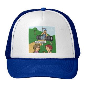 Guarde en el gorra de Truckin