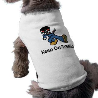 Guarde en Treatin Camiseta De Perrito