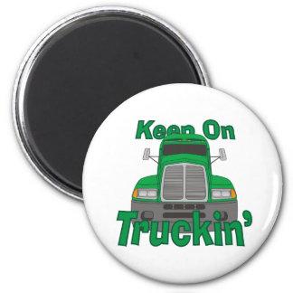 Guarde en Truckin Imán Para Frigorífico