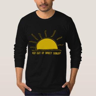 GUARDE fuera de camisetas directas de la LUZ DEL Remeras