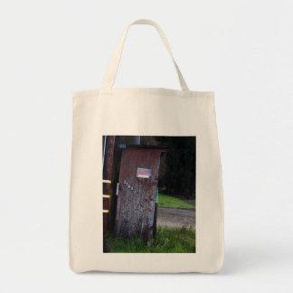 Guarde hacia fuera bolsa tela para la compra