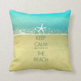 Guarde la almohada tranquila de la arena de la
