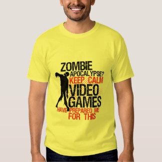 Guarde la apocalipsis divertida tranquila del camisas