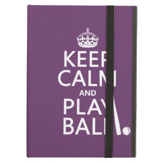 Guarde la bola de la calma y del juego béisbol