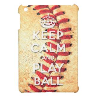 guarde la bola de la calma y del juego iPad mini carcasas