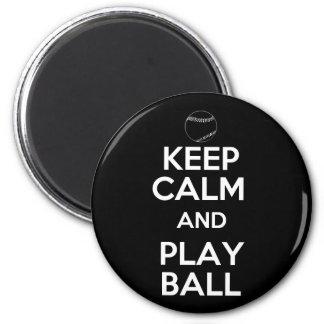 Guarde la bola de la calma y del juego iman
