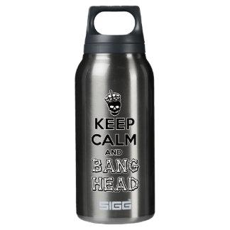 ¡Guarde la cabeza de la calma y de la explosión!!