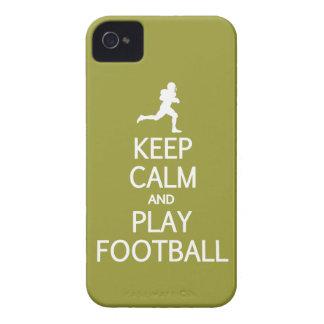 Guarde la caja de encargo de Blackberry del fútbol Case-Mate iPhone 4 Protectores