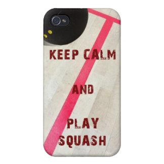 Guarde la calabaza de la calma y del juego iPhone 4/4S carcasa