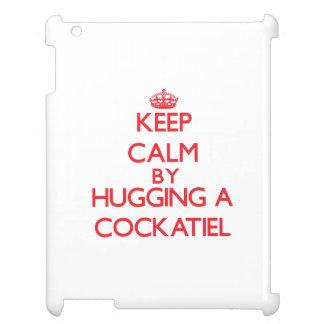 Guarde la calma abrazando un Cockatiel