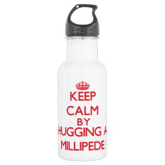 Guarde la calma abrazando un milpiés